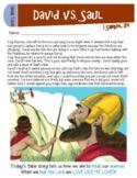 David vs. King Saul