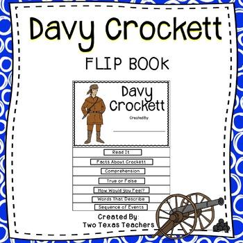 Davy Crockett Flip Book