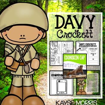 Davy Crockett Activities and Unit