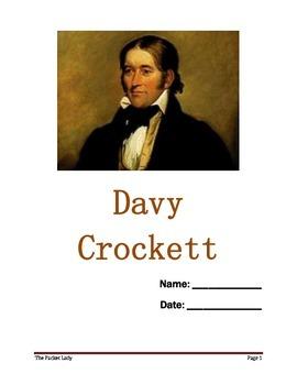 Davy Crockett - 5 Paragraph Essay - Scaffolded Writing Program