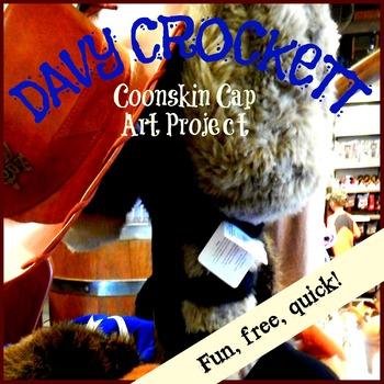 Davy Crockett Coonskin Cap Art Project