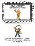 Davy Crockett Emergent Reader Booklet