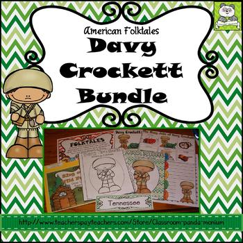 Davy Crockett Folktale Bundle