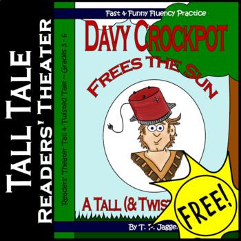 Davy Crockett Free Readers Theater Tall Tales (Twisted)-Da