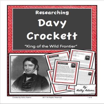 Davy Crockett Informative Writing