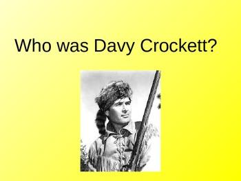 Davy Crockett Powerpoint