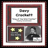 Davy Crockett Reading Comprehension