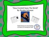"""Davy Crockett Saves the World"" Trifold Activity 5th Grade Reading Wonders"