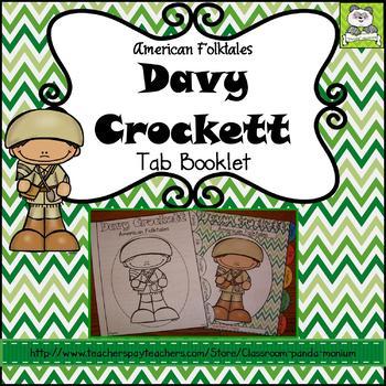 Davy Crockett Tab Booklet