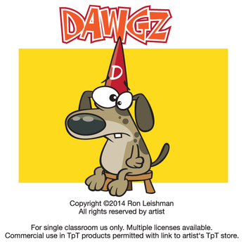 Dawgz (Dogs) Cartoon Clipart