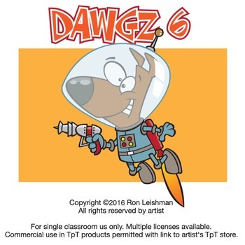 Dawgz (Dogs) Cartoon Clipart Vol. 6