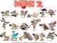 Dawgz (Dogs) Cartoon Clipart Vol. 2