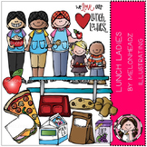 Lunch Lady clip art - COMBO PACK- by Melonheadz