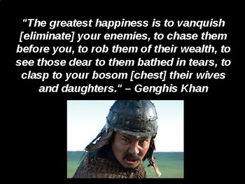 Day 034_Mongol Empire under Genghis Khan - PowerPoint