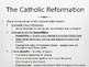 Day 049_Protestant Reformation & Catholic Counter Reformat