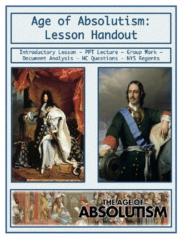 Day 061_Age of Absolutism Introduction - Lesson Handout