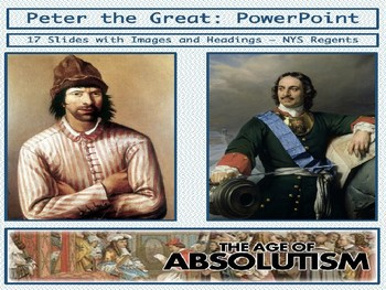 Peter the Great of Russia - PowerPoint