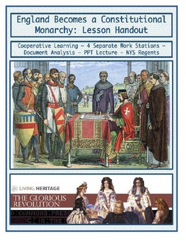 Day 063_England becomes a Constitutional Monarchy - Lesson Handout