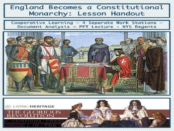 England becomes a Constitutional Monarchy - PowerPoint