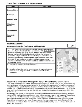 Day 088_Introduction to the Age of Imperialism - Lesson Handout