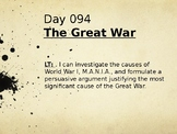 Day 094_Causes of World War I - PowerPoint