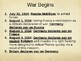 Day 095_Early Years of WWI and Weapon Tech - PowerPoint