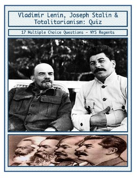 Day 098_Lenin, Russian Revolution, and Stalin - Multiple Choice Quiz