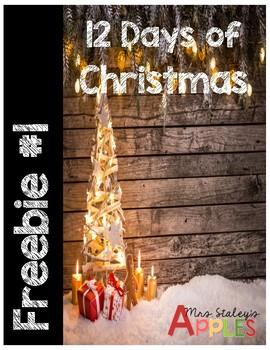 Day 1 Christmas Freebie 2017