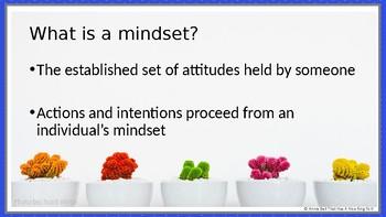 First Week - Growth Mindset Powerpoint