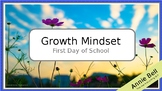 First Week - Growth Mindset Powerpoint