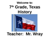 Day 1 Intro to Texas History