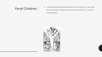 Day 1 PPT for Feral Child Unit