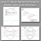 Lesson 1/5: Perspective Drawing Boot Camp: Step-by-Step PowerPoints and Handouts