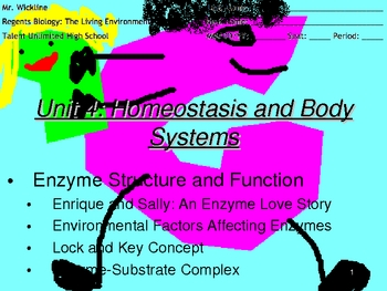 Day 1 of Enzyme Structure and Function