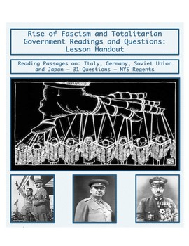 Day 100_Rise of Fascism & Totalitarian Government Readings - Lesson Handout