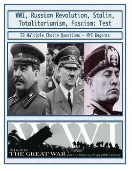 Day 102_World War I, Russian Revolution, Rise of Fascism, Stalin - Review Sheet