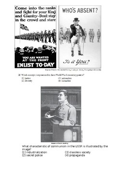 Day 103_World War I, Russian Revolution, Rise of Fascism, Stalin - MC Exam