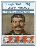 Day 104_Joseph Stalin and Totalitarian Government DBQ - Le