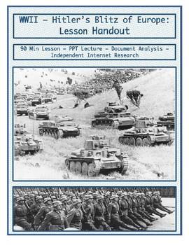 Day 105_Hitler's Blitz of Europe - Lesson Handout