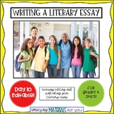 Day 10_Teaching the Literary Essay