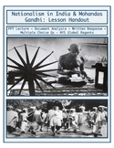Day 110_Nationalism in India and Mohandas Gandhi - Lesson Handout