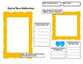 End of Year Classroom Reflection. Activities, Writing, Fun