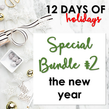 """Day 2: """"12 Days of Holidays"""" Special Bundle The New Year"""