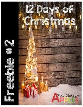 Day 2 Christmas Freebie 2017