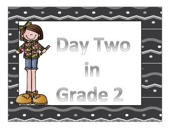 Day 2 of Grade 2