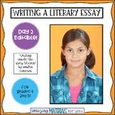 Day 2_Teaching the Literary Essay