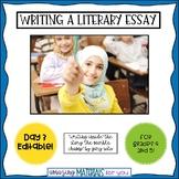 Day 3_Teaching the Literary Essay