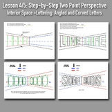 Lesson 4/5: Perspective Drawing Boot Camp: Step-by-Step PowerPoints and Handout