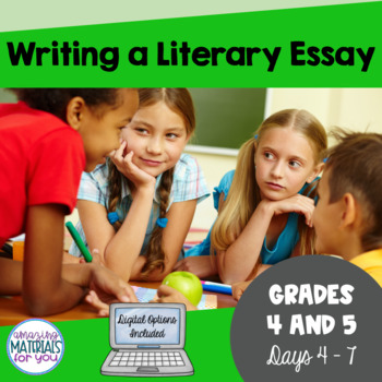 Day 4_Teaching the Literary Essay