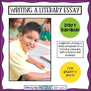 Day 5_Teaching the Literary Essay